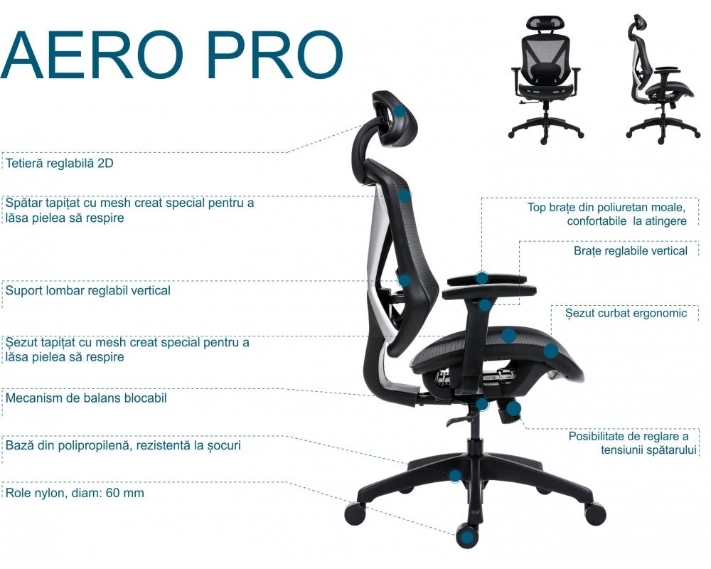 Scaun Aero Pro